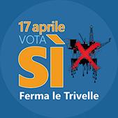Domenica 17 aprile andiamo a votare  e votiamo SI!